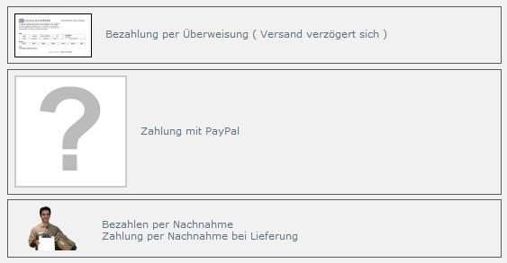 paypal zahlung wird nicht angezeigt