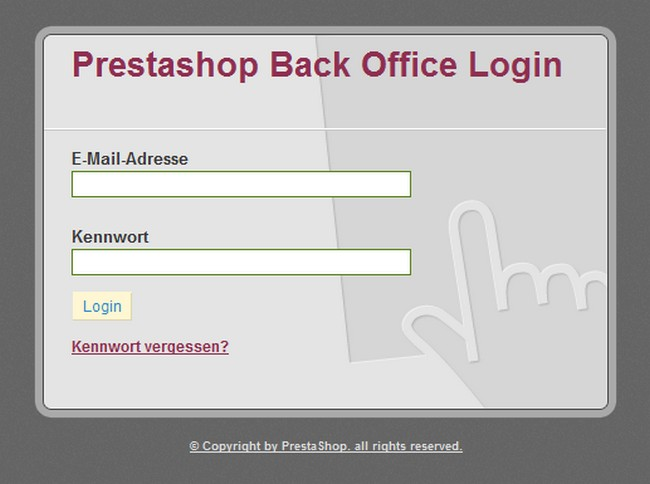 Login-Back-Office