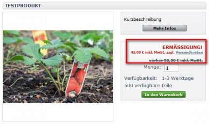 Versandkostenlink auf der Detailseite, Angabe inkl. Mwst., erläuterter Streichpreis und Lieferinfos